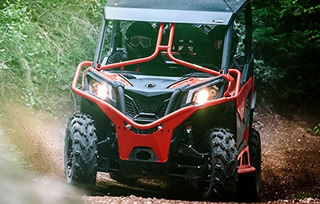 can-am-off-road-maverick-chemin-terre-foret-mobile